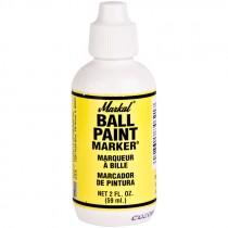 2 Oz Bottle Paint Marker, Metal Tip, Yellow