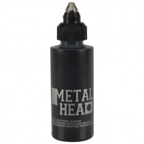 2 OZ BOTTLE BLACK PAINT MARKER METAL TP