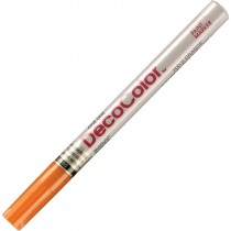DECO COLOR ORANGE FINE LINE VALVE ACTION PAINT MARKER