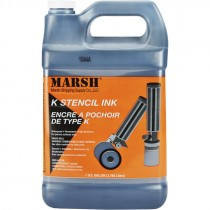 K Stencil Ink, Black, 1 Gallon