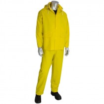 3-Piece Rainsuit, .35 mm, Yellow, X-Large