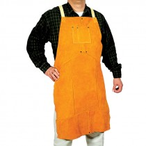 "24"" x 48"" Full Bib Leather Apron"