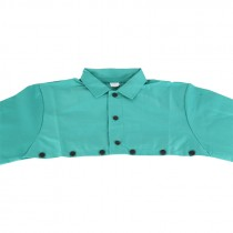 3XL Green Cotton Cape Sleeves