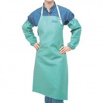 "42"" Green Cotton Apron"