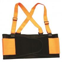 X-Large Orange Hi-Vis Back Support