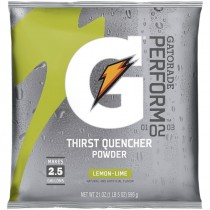 Gatorade® 2-1/2 Gal. Powder Mix - Lemon Lime (Sold  in Boxes of 32)