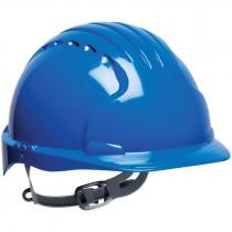 JSP® Hard Hat, Slip Ratchet Suspension, Blue