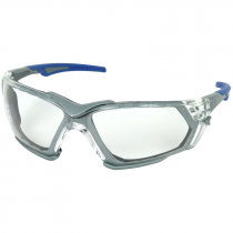 Fortify™ Safety Glasses, Interchangeable Temples/Strap, Clear Lens - Fogless®3Sixty™ Technology