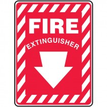 "10"" x 7"" Fire Extinguisher Sign"