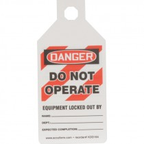 STOPOUT TAB TAG REPLACEMENTDO NOT OPERATE - 25 PK