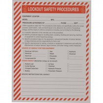 LOCKOUT SAFETY PROCEDURES - 25 PK