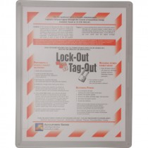 LOCKOUT PROGRAM AND TRAINING POSTER
