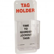 LOCKOUT TAG HOLDER
