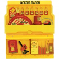 PADLOCK LOCKOUT STATION