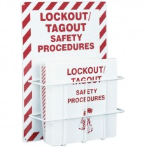 LOCKOUT PROCEDURE STATION RACK & BINDER
