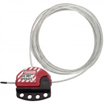 15 FT ADJUSTABLE CABLE LOCKOUT