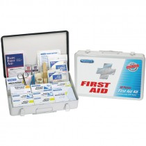 75 Person 419 Piece Office/Warehouse First Aid Kit w/ Metal Case