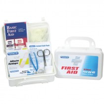 25 Person Non-ANSI First Aid Kit, Plastic Case