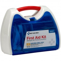 25 Person ANSI Class A Ready Care First Aid Kit w/ Plastic Case