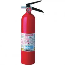 2-1/2 lb ABC Fire Extinguisher, Rechargeable, Aluminum Body,  Vehicle Mount