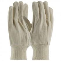 8 oz Cotton Canvas Knit Wrist Work Gloves, One Size Fits Most