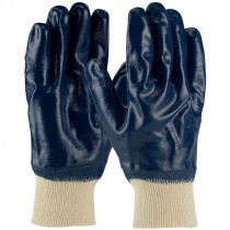 ARMORTUFF® JERSEY GLOVE, KNIT WRIST, FULL SMOOTH NITRILE COAT