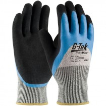 PolyKor™ Blend Glove,  Double 3/4 Dip Latex Coated MicroSurface Grip, Large