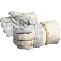 Premium Single Palm Leather Work Glove, Kevlar® Stitching, Kevlar® Lining, Large