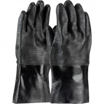 """12"""" Neoprene Coated Glove w/ Etched Rough Finish and Interlock Liner"""