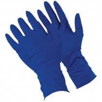 "13 Mil 12"" Industrial Grade Powdered Latex Gloves, Large"