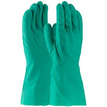 "13"" 11 Mil. Green Nitrile Glove, Embossed Grip, Unlined, X-Large"