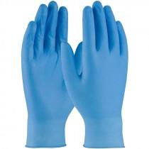 4 Mil Blue Nitrile Glove, Powder Free, Textured Grip, Medium