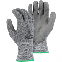 Annihilator® Cut-Resistant Glove, Polyurethane Coated Palm, 2-XL