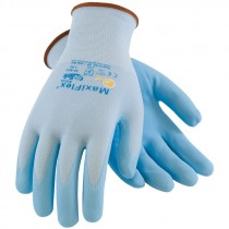 MaxiFlex® Active™ Blue Nylon Glove, Nitrile MicroFoam Grip, Medium