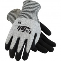 PolyKor™ Knit Glove, Double Dip Latex Coated MicroSurface Grip, Medium