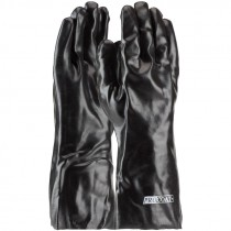"14"" PVC Dipped Glove, Smooth Grip, Interlock Lining, Universal Size"