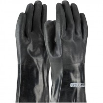 """8030DD 12"""" PVC Dipped Jersey Lined Rough Finished Gloves"""