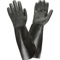 """18"""" PVC Dipped Glove, Etched Grip, Interlock Lining, One Size"""