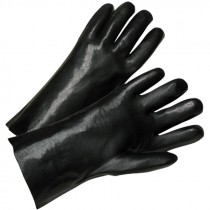 1027  12 IN. SMOOTH GRIP PVC GLOVES