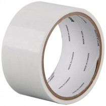 "4"" x 60 Yd White Film Tape"