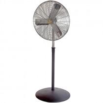 "30"" Adjustable Height, 3-Speed Floor Fan, Industrial-Duty"