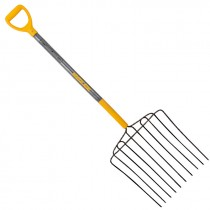 10-Tine Short D-Handle Pitchfork