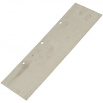 4 X 12 IN. STAINLESS STEEL REPLACEMENT SCRAPER BLADE