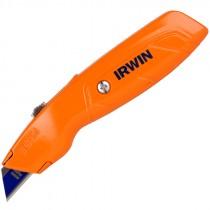 Irwin® Retractable Hi-Vis Orange Utility Knife