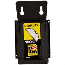 100 Pc. Heavy Duty Utility Knife Blade Dispenser