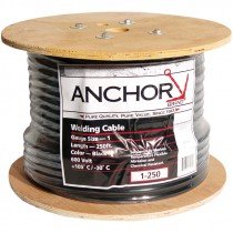 2/0 AWG Welding Cable, Black, 250'
