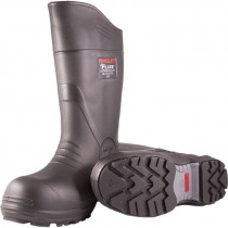 Flite™ Rubber Boot, Cleated Outsole & Composite Safety Toe, Black, Men's Size 7