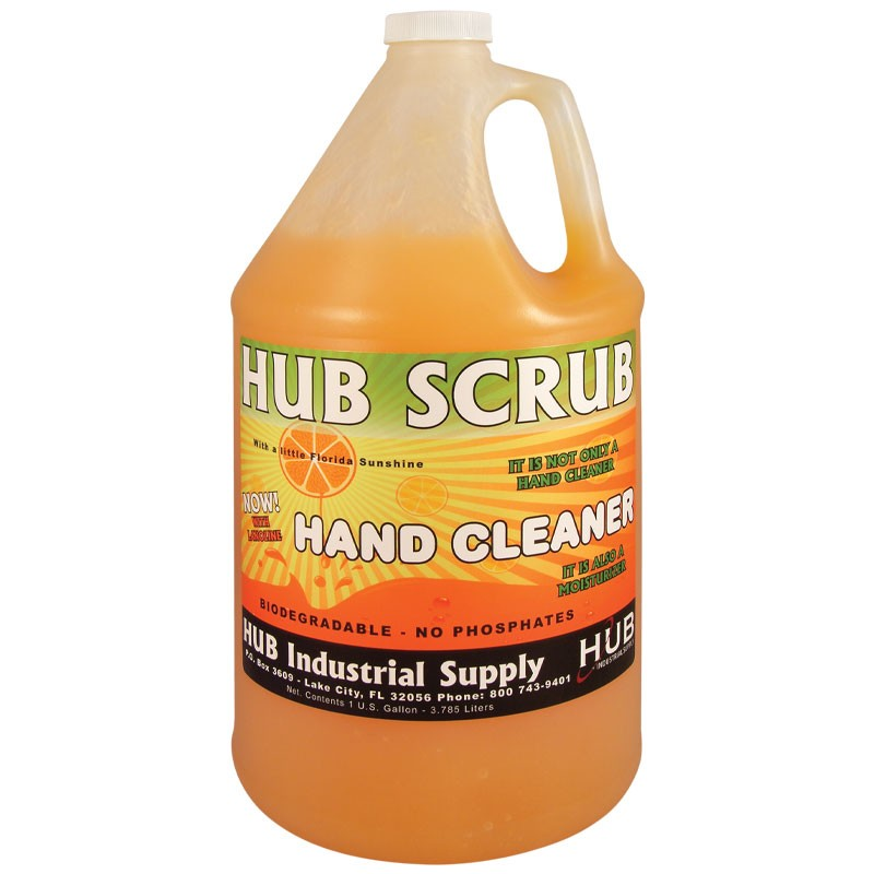 HUB Scrub Premium Citrus Orange Hand Cleaner - 1 Gallon
