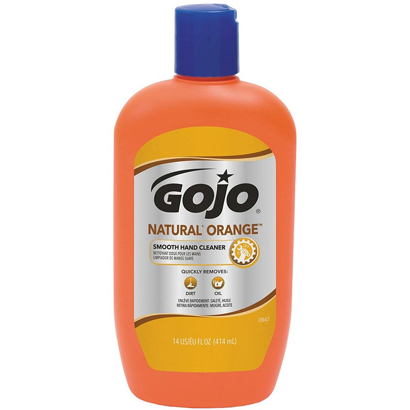 GOJO® Orange Hand Cleaner with Pumice - 14 Oz.