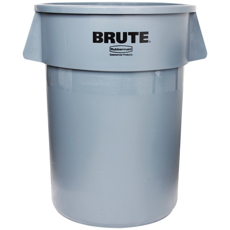 more views gray rubbermaid brute trash can - Rubbermaid Trash Cans